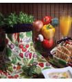 سرویس آشپزخانه چاپی سبزیجات رزین تاژ